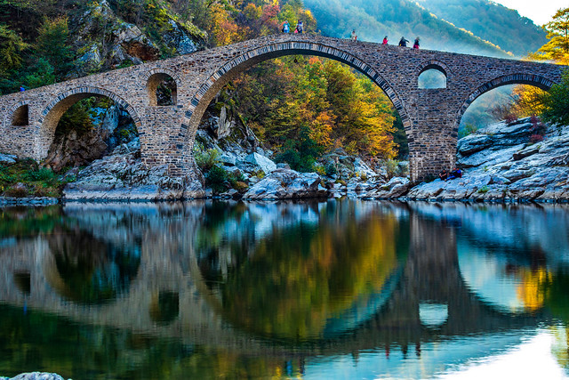 The Devil's bridge at Arda