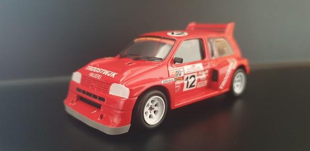 1991 British Rallycross GP #17 MG Metro 6R4 Hans te Pas