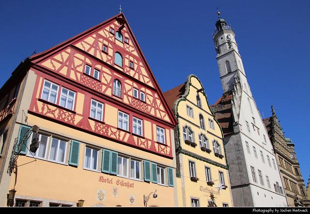 Herrngasse, Rothenburg ob der Tauber, Germany