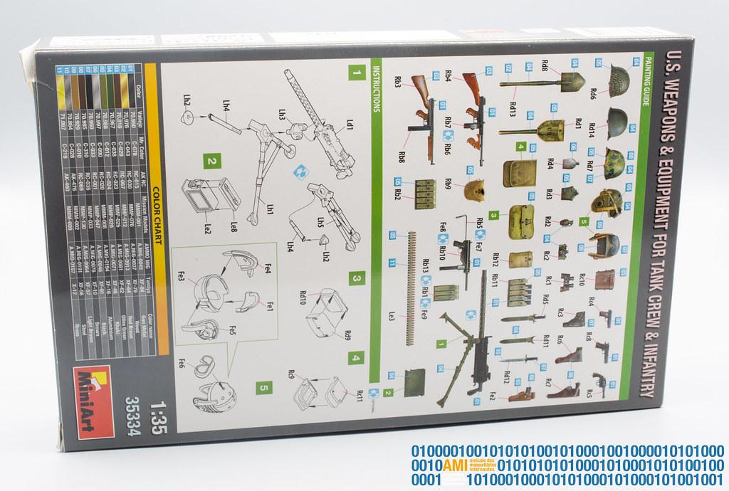 Miniart 35334 le plan de montage