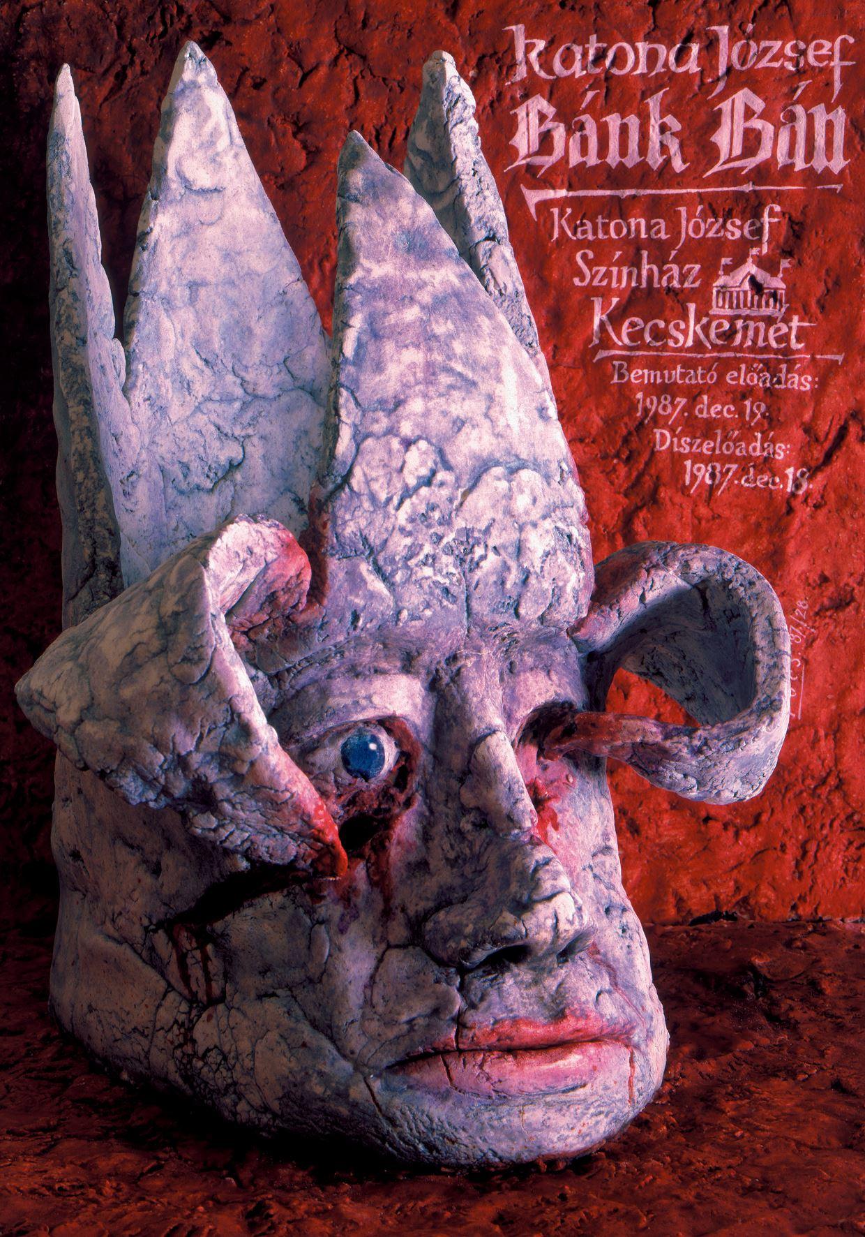 Péter Pócs - József Katona- Ban Bánk (Theatrical Poster, 1987)