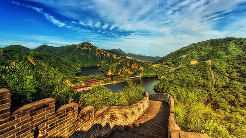 The Great Wall of China. From 5 Tips for Studying Abroad in China