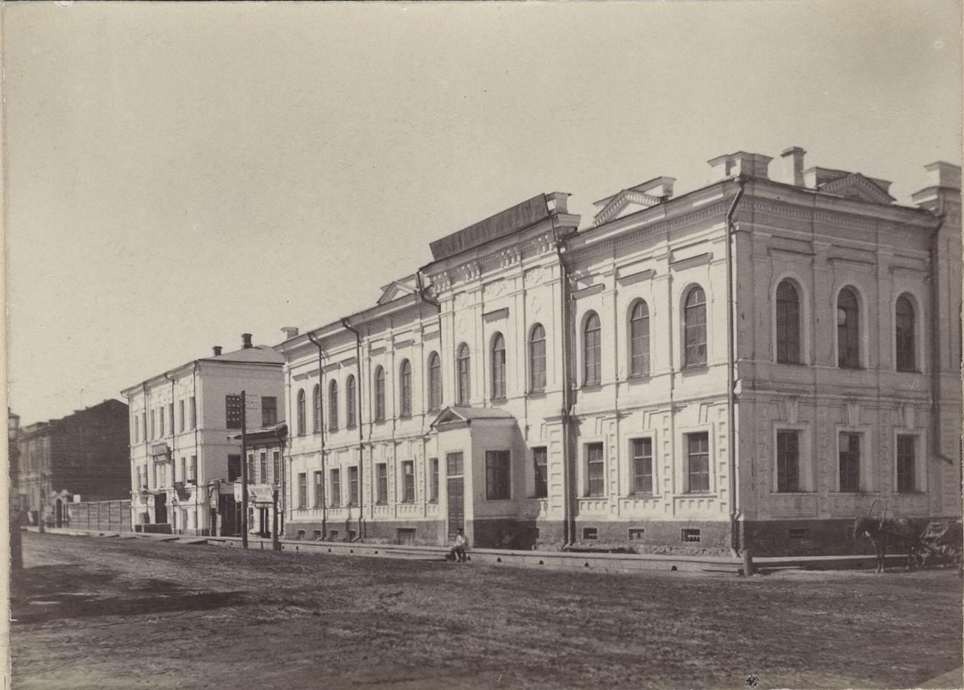 01. Томское Алексеевское реальное училище в 1890-91 гг.