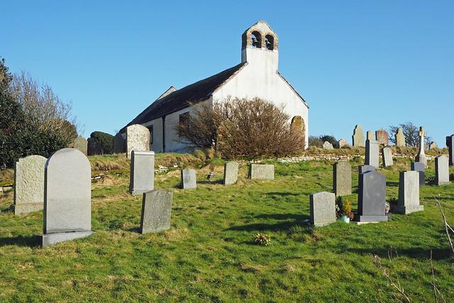Ponsonby Church, Beckermet, Cumbria, Uk
