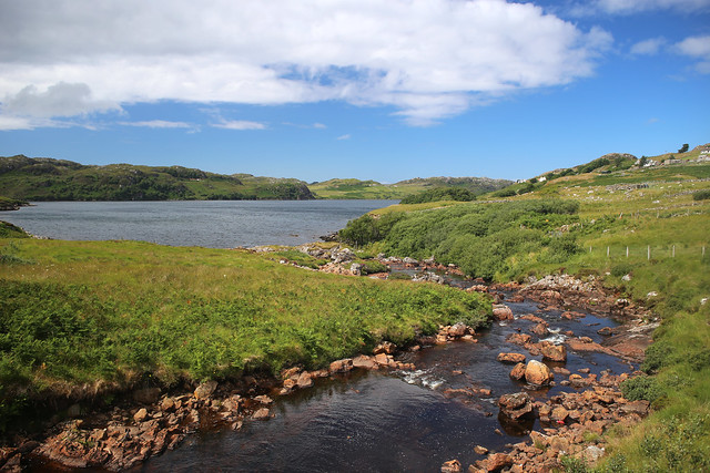 Achriesgill Bay