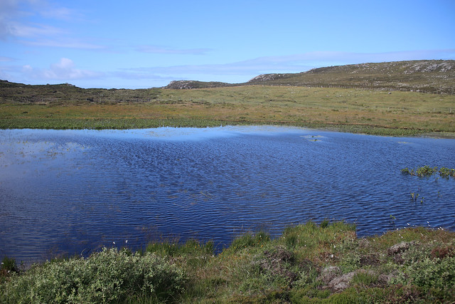 Loch na Larach near Kinlochbervie