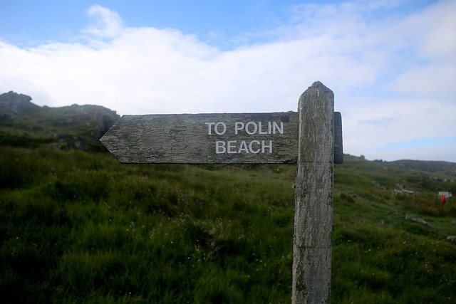Path to Polin Beach