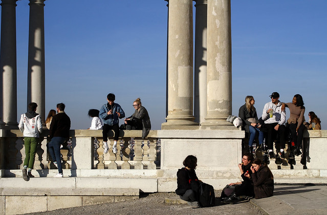 At the Gloriette