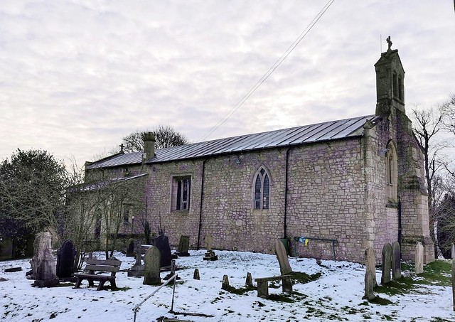 Church of the Holy Cross, Upper Langwith, Derbyshire.