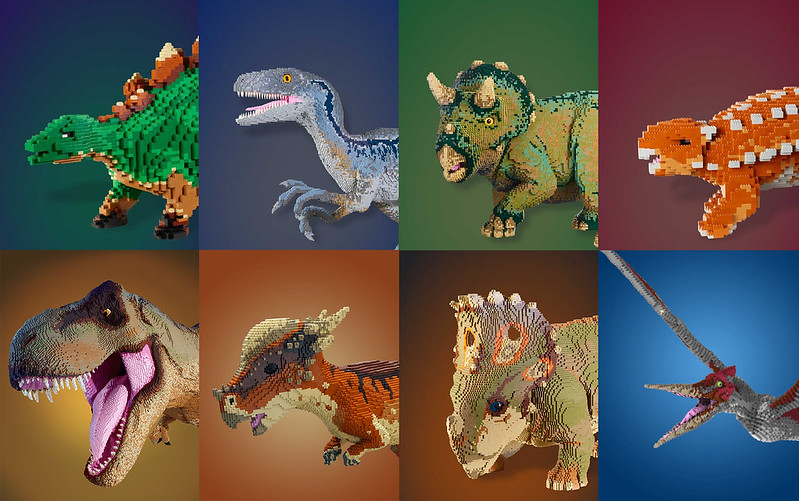 Epic LEGO Jurassic World Exhibition Announced