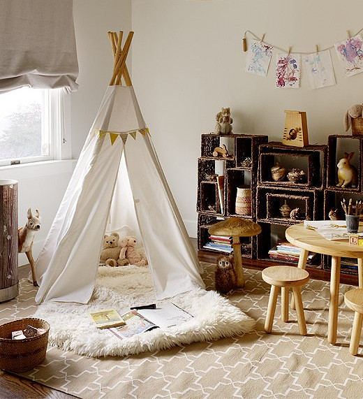 Teepee & Crate Shelves