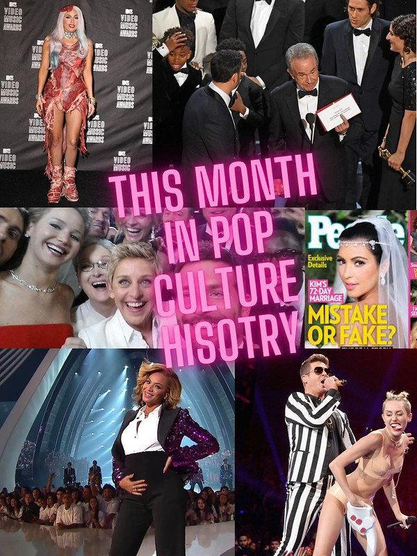 This week in Pop culture hitor