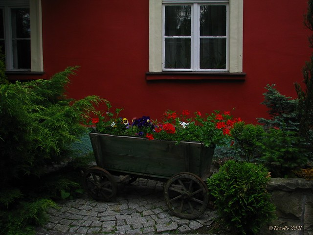 In a red - green mood - a cottage in Bad Landeck