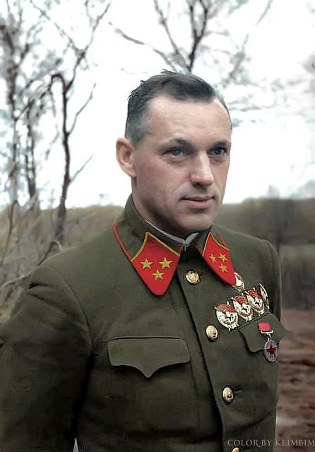 Генерал К.К. Рокоссовский