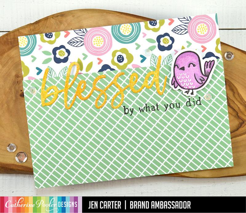 Jen Carter Spring Garden Blessed Lovely Birdies Spring Pick-n-mix