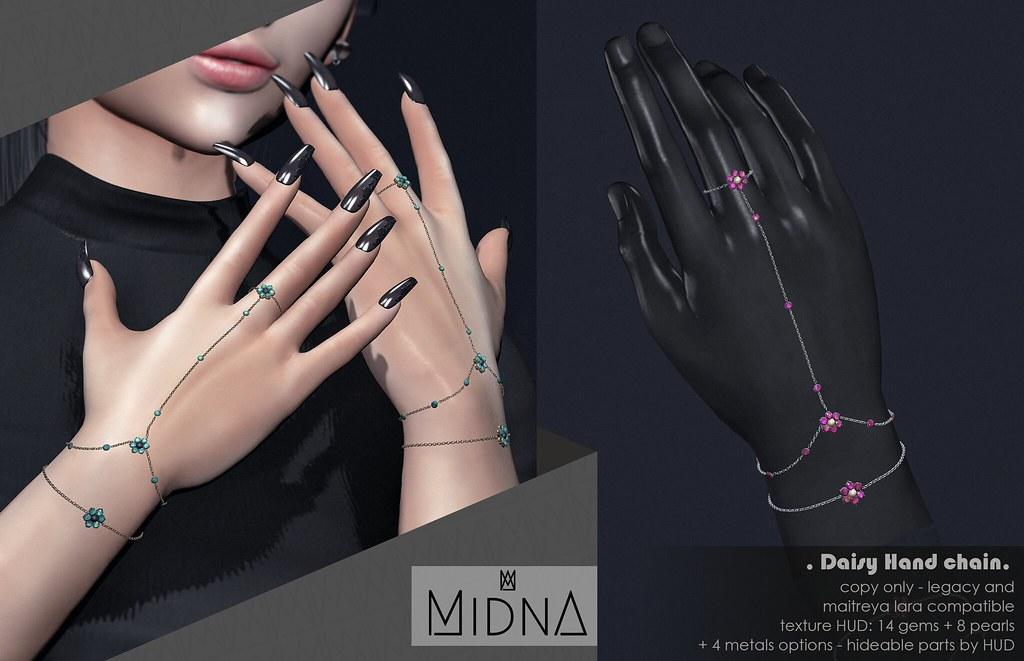 Midna - Daisy Hand Chain