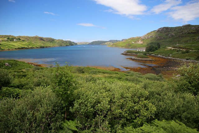 Loch Inchard at Rhiconich