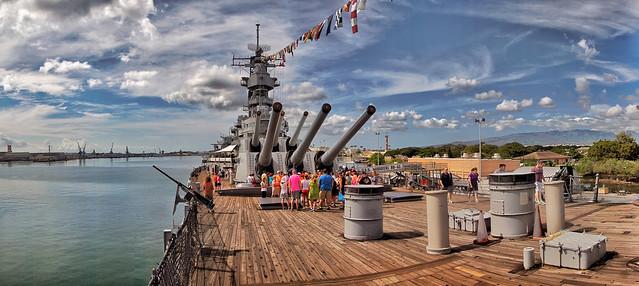 Battleship Missouri.