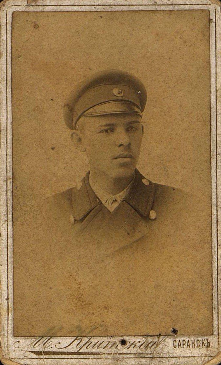 Цышевский Александр Александрович (Францевич), телеграфист станции Рузаевка. 1899