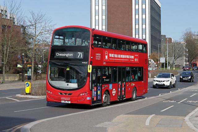Route 71, London United, VH45125, LJ15JYZ
