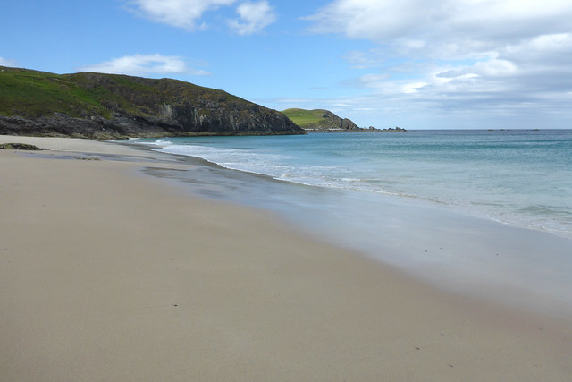 The beach at Durness