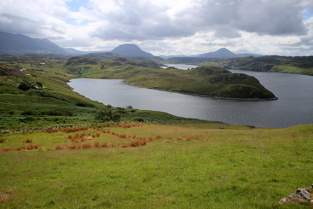Loch Inchard and Loch Sheigra