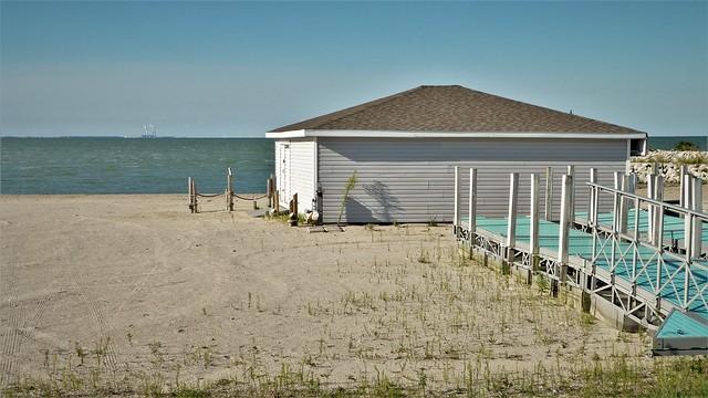 Empty Beach House