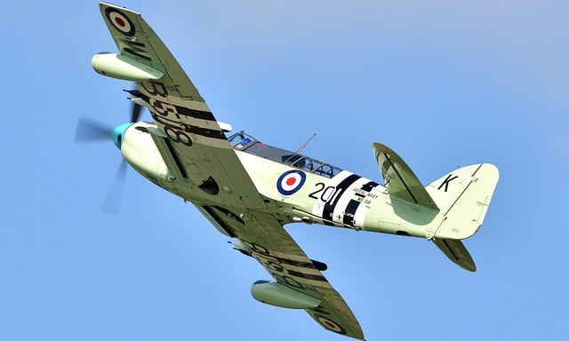 Fairey Firefly Royal Navy WB518 N518WB 135129