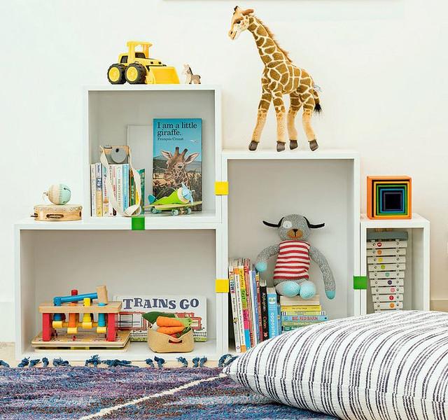 Clipped Box Shelves