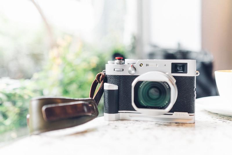 X100V 真皮金屬握把|ProGrip for Fujifilm X100V