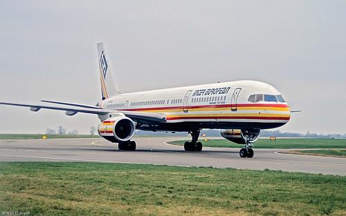 boeing75723af unitedkingdom lutoneggw gieab location operator intereuropean airlines luton bedfordshire england