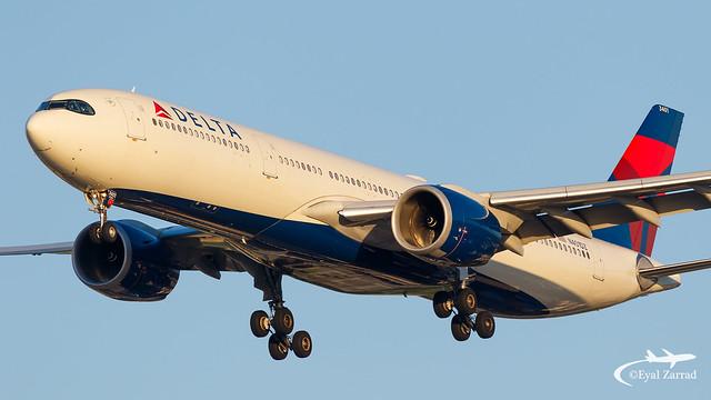 TLV - Delta Airbus A330-900 N401DZ