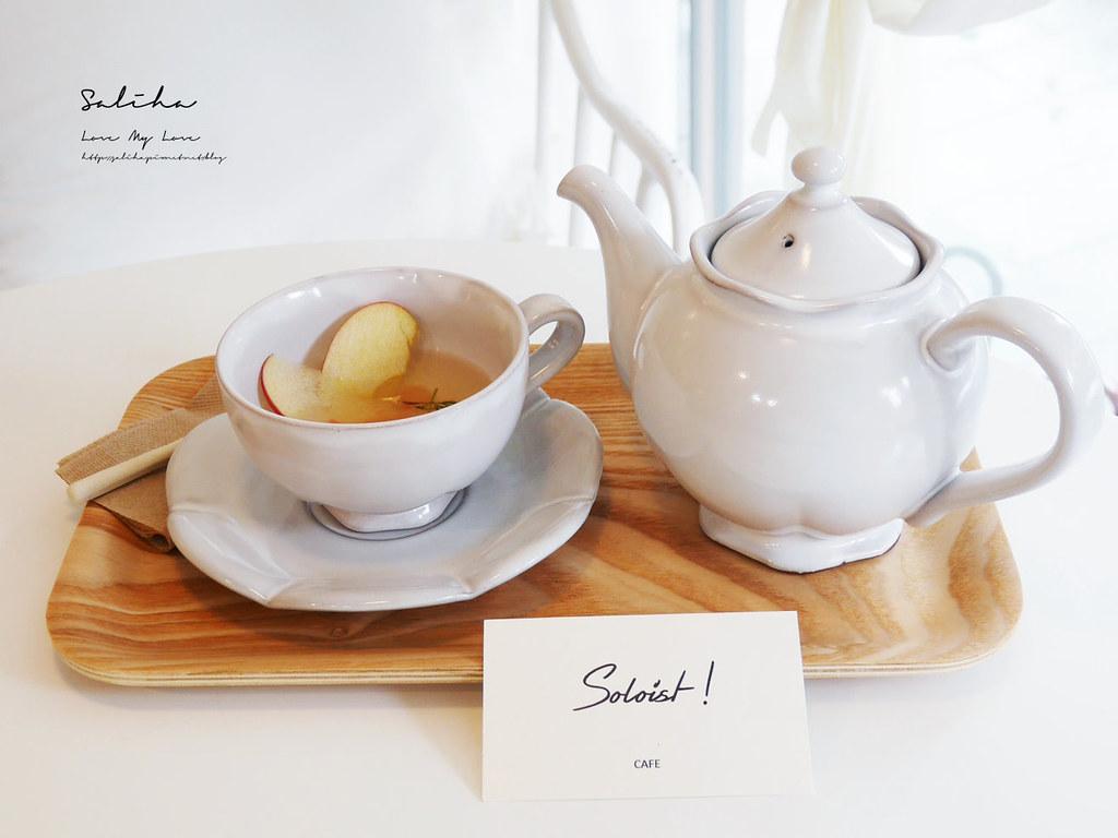 台北六張犁餐廳美食推薦Soloist Cafe大安區咖啡廳下午茶甜點蛋糕 (1)