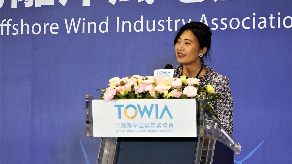 台灣離岸風電產業協會理事長許乃文