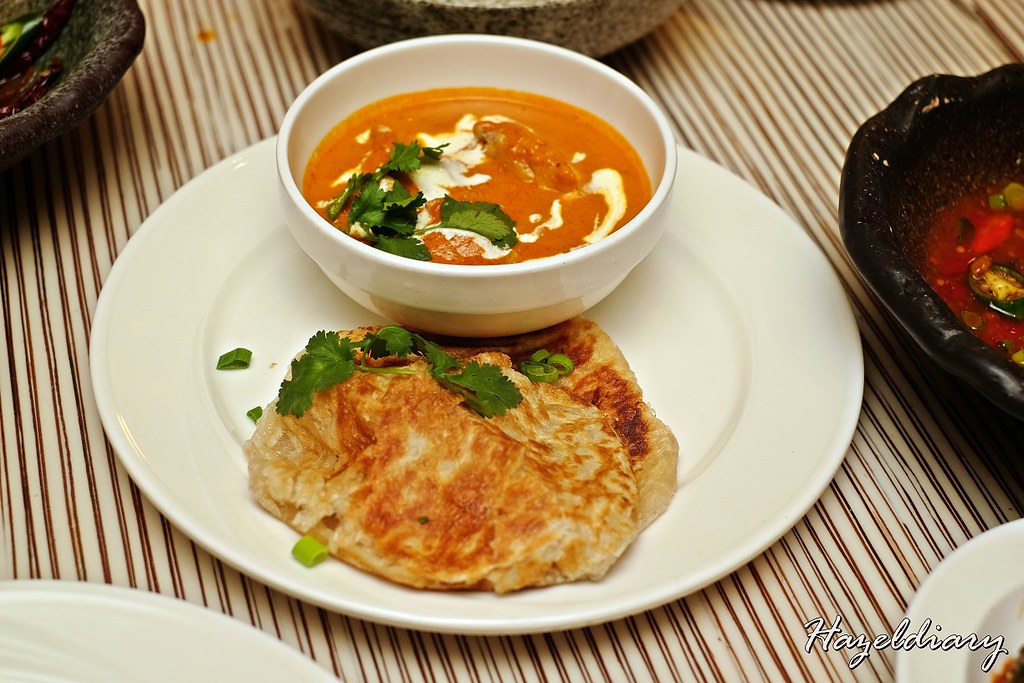 Window on the Park-Butter Chicken with Prata