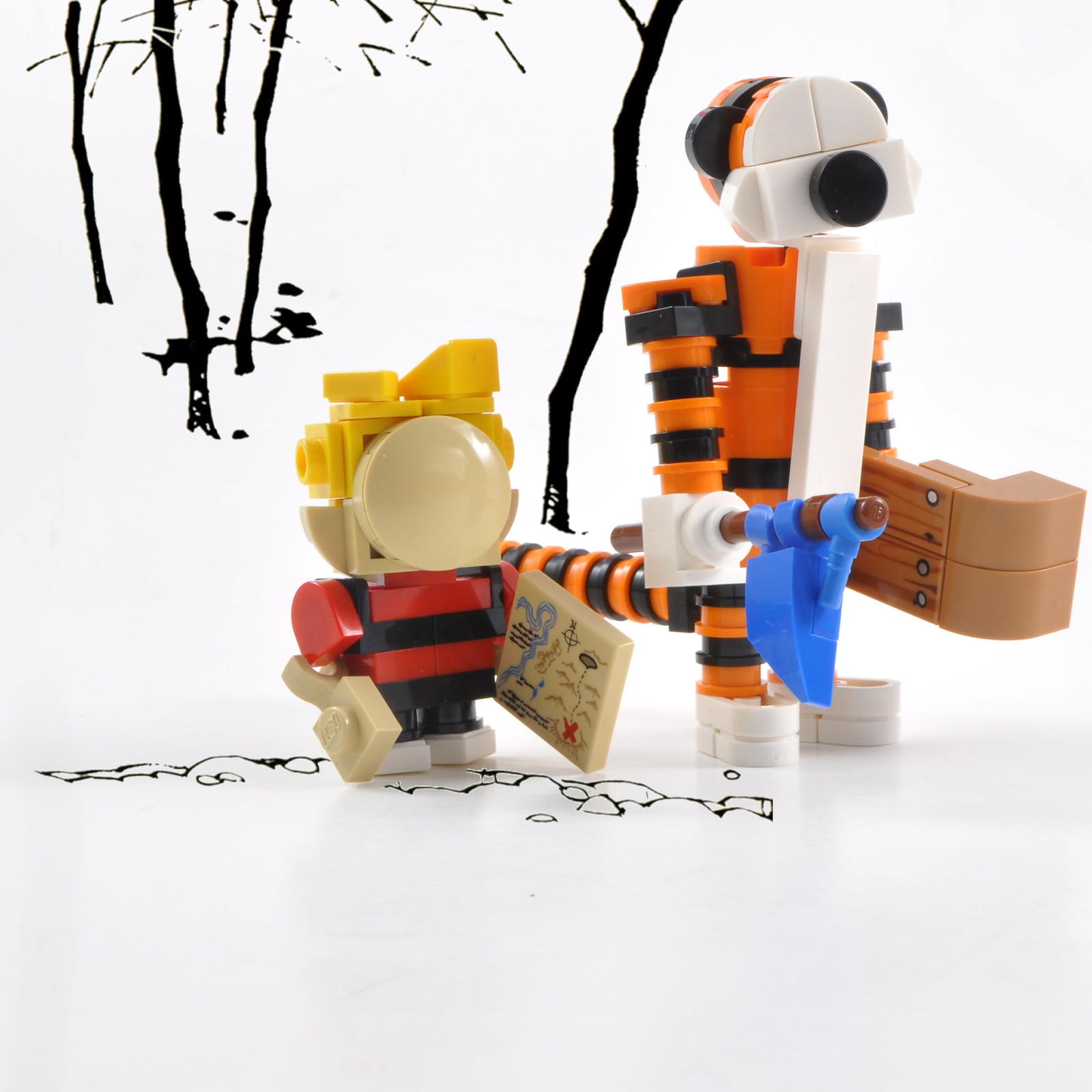 Calvin and Hobbes - Off to an Adventure