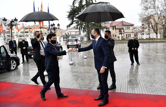 Dritan Abazović - zvanična posjeta Sjevernoj Makedoniji (10. - 11.03.2021.)