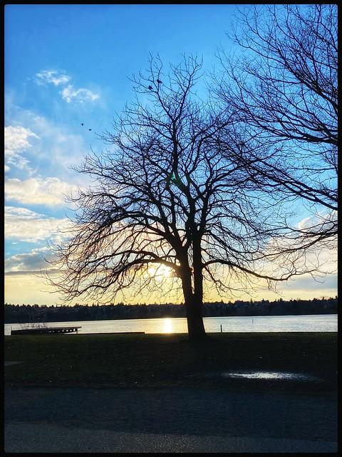 Green lake Seattle Washington