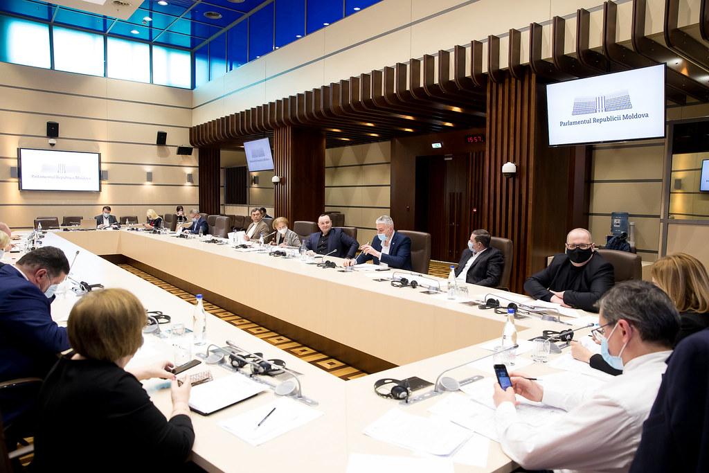 10.03.2021 Ședința Biroului permanent al Parlamentului