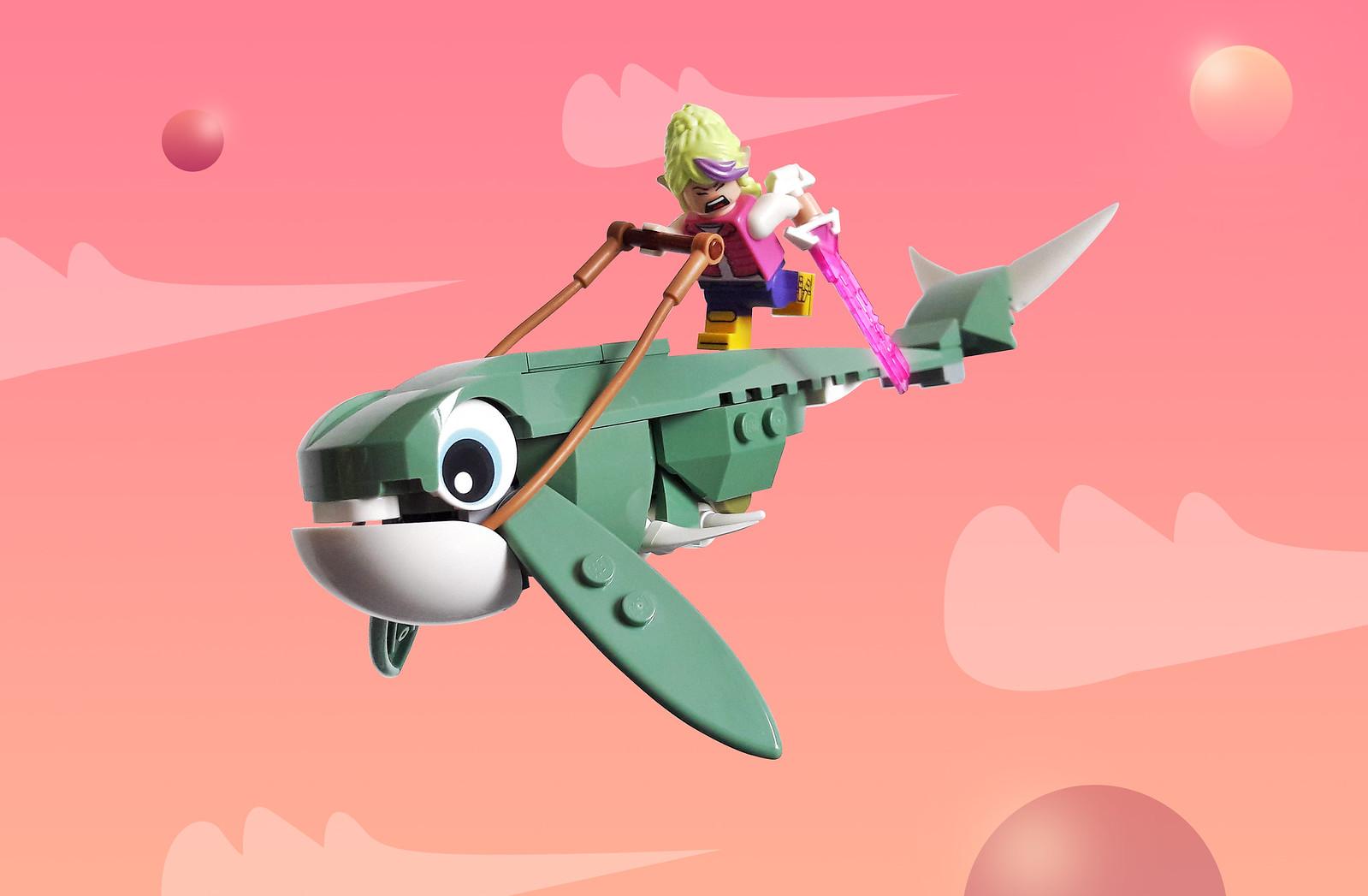 Fifi - The Warrior Princess and the hunt for Tatsu, The Magic Whale