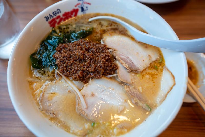 テンホウのタンタン麺
