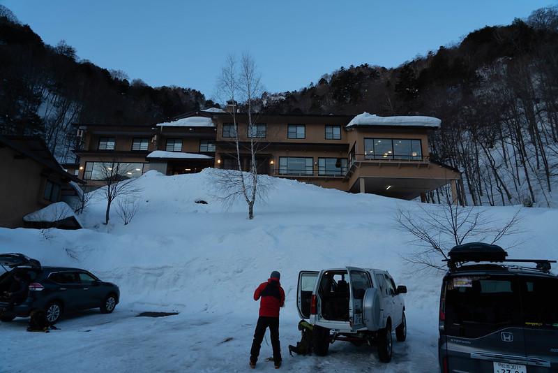 2月の中の湯温泉旅館