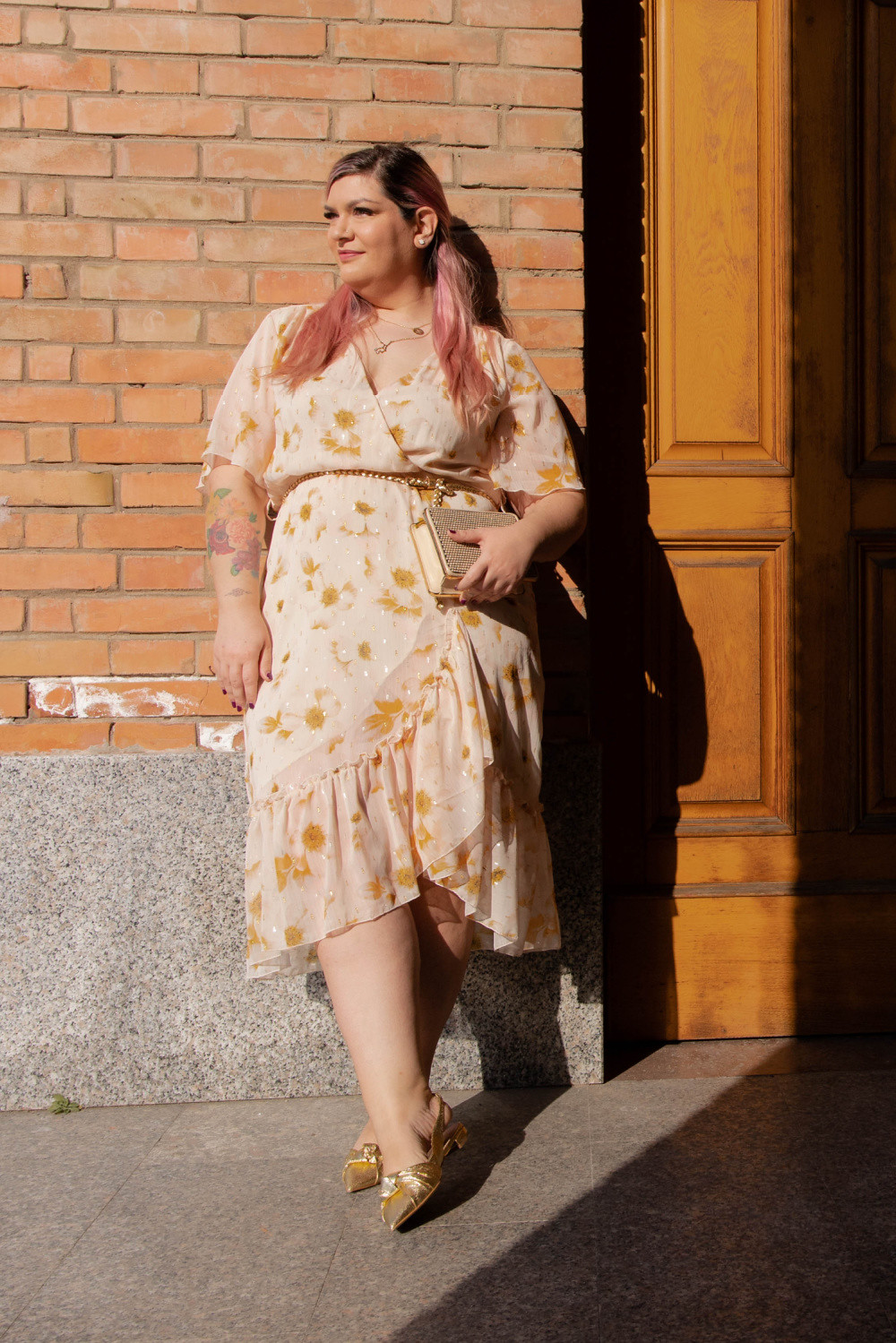 plussize outfit cerimonia giallo exsy (9)