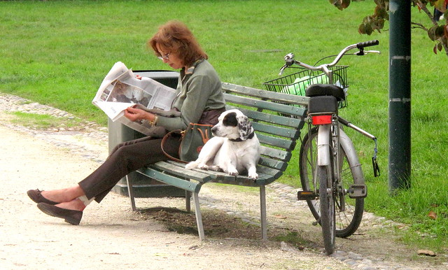 Domenica mattina al parco - Sunday morning in the park