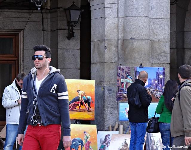 Madrid. Plaza Mayor.