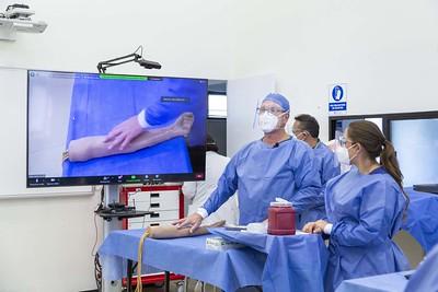 Inicio presencial de prácticas y talleres de la Facultad de Ciencias de la Salud