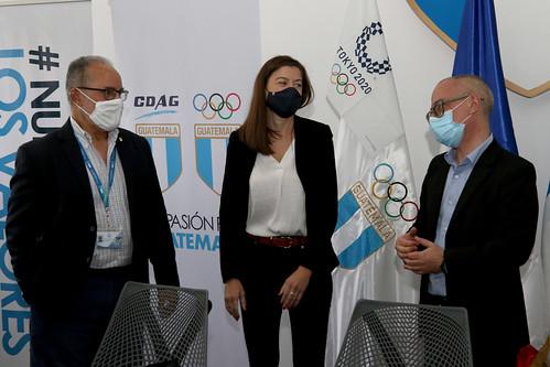 Firma de convenio 2021 COG, CDAG y Alianza Francesa