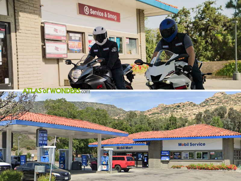Inland Empire bikers service station
