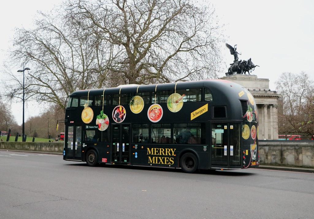 Arriva London - LT197 - LTZ1197 - Merry Mixes