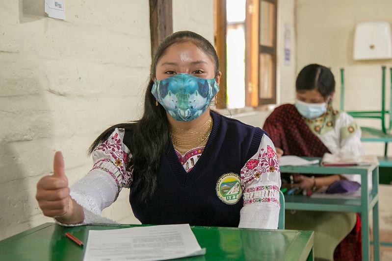 Visita Ministra de Educación, UNICEF, OPS - Unidad Educativa Zuleta